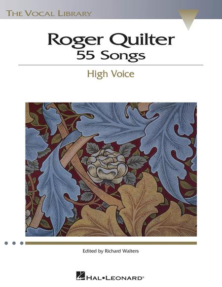 55 Songs High Voice Sheet Music By Roger Quilter Sheet Music Plus