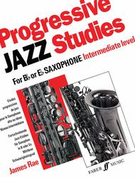 Progressive Jazz Studies for B-flat or E-flat Saxophone, Book 2