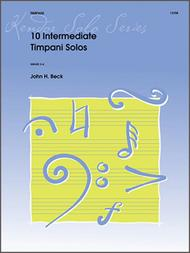 Beck  Sheet Music 10 Intermediate Timpani Solos Song Lyrics Guitar Tabs Piano Music Notes Songbook