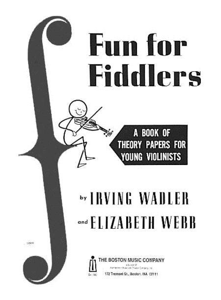 Sheet Music Fun For Fiddlers Violin