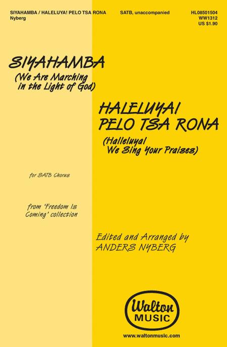Sheet music: Two Songs from Freedom Is Coming (SATB A Cappella)