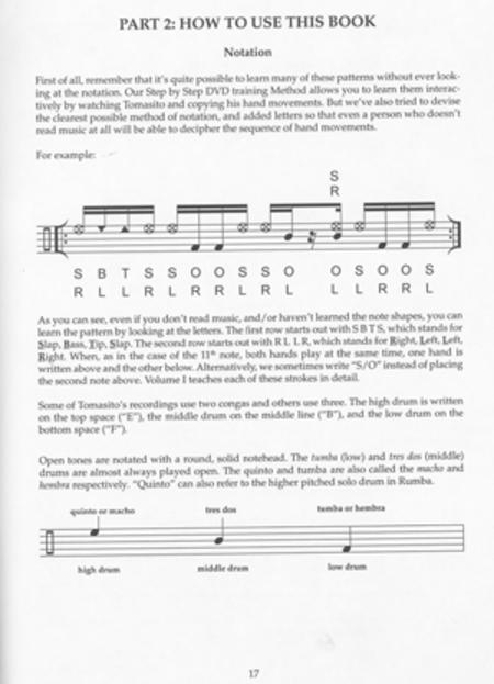 The Tomás Cruz Conga Method, Volume II - DVD sheet music