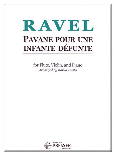 ravel pavane pour une infante defunte piano pdf
