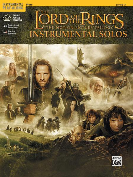 The Lord Of The Rings - Instrumental Solos (Flute) Sheet