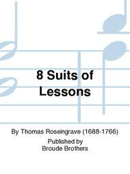 8 Suits of Lessons sheet music