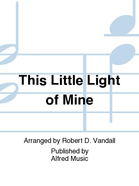 Sheet Music This Little Light Of Mine Piano Solo