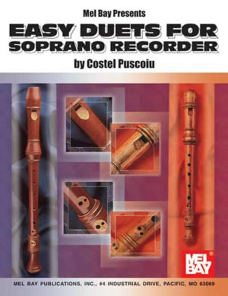 Easy Duets for Soprano Recorder
