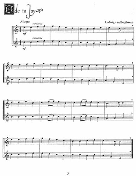 Easy Duets for Soprano Recorder sheet music