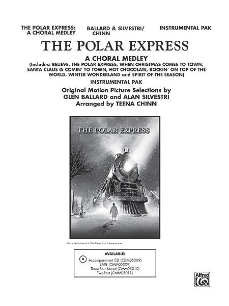 sheet music extract - Polar Express When Christmas Comes To Town Lyrics