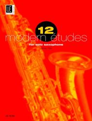 James Rae  Sheet Music 12 Modern Etudes For Solo Saxophone Song Lyrics Guitar Tabs Piano Music Notes Songbook