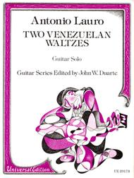 Antonio Lauro  Sheet Music 2 Venezuelan Pieces Song Lyrics Guitar Tabs Piano Music Notes Songbook