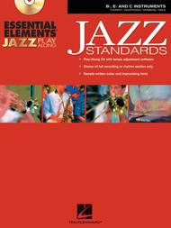Essential Elements Jazz Play-Along - Jazz Standards (B-flat, E-flat and C Instruments) sheet music