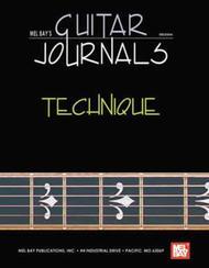 Guitar Journals - Technique sheet music