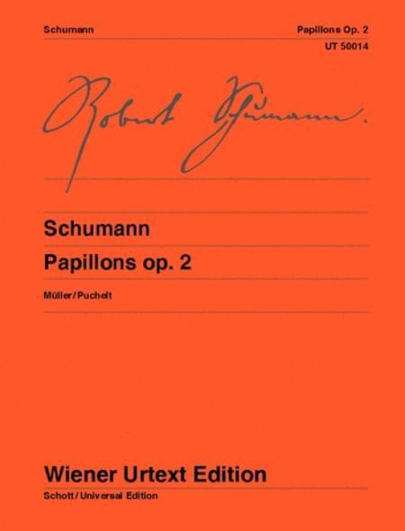 Sheet music: Robert Schumann : Papillons (Piano solo)