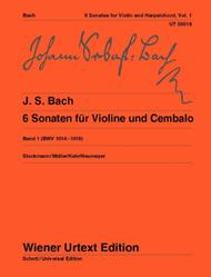 6 Sonatas for Violin and Cembalo, Vol 1