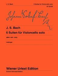 Suites for Violoncello solo, BWV 1007-1012