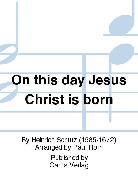 hodie christus natus est pdf