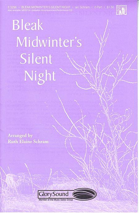 Sheet music: Bleak Midwinter's Silent Night (2-part)