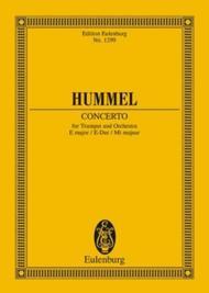 Concerto in E Major sheet music
