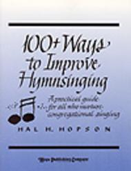 Sheet Music 100+ Ways to Improve Hymnsinging Song Lyrics Guitar Tabs Piano Music Notes Songbook