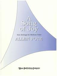 A Song Of Joy sheet music