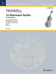 Arnold Trowell  Sheet Music 12 Morceaux faciles op. 4 Vol. 2 Song Lyrics Guitar Tabs Piano Music Notes Songbook