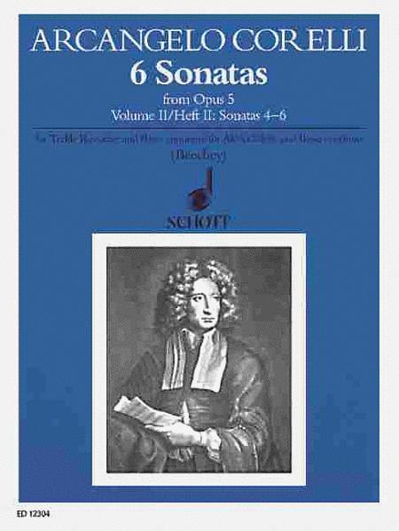 6 Sonatas from Op. 5 - Volume 2