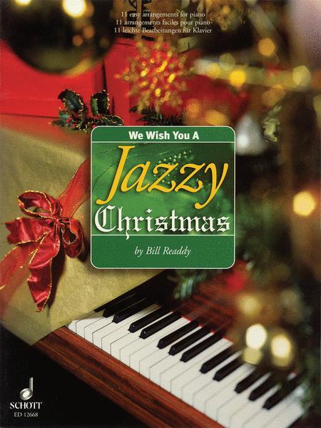 Sheet Music We Wish You A Jazzy Christmas Piano Solo