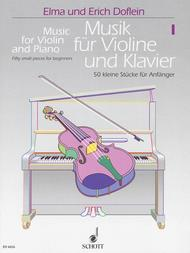 Music for Violin and Piano - Volume 1 sheet music