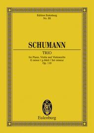 Piano Trio, Op. 110 in G Minor sheet music