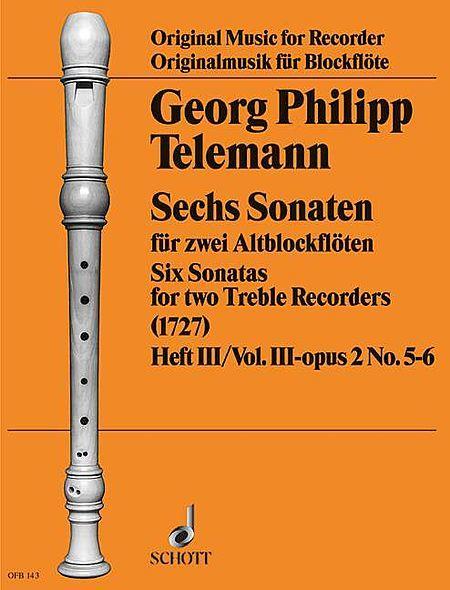 6 Sonatas Op. 2, Volume 2 (3-4)