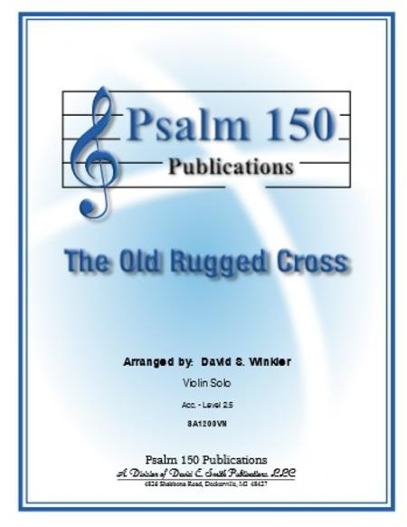 Sheet music: The Old Rugged Cross (Violin)