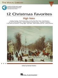 Various  Sheet Music 12 Christmas Favorites Song Lyrics Guitar Tabs Piano Music Notes Songbook