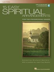Various  Sheet Music 15 Easy Spiritual Arrangements for the Progressing Singer Song Lyrics Guitar Tabs Piano Music Notes Songbook