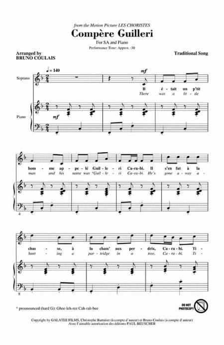 Buy Sheet Music - Bruno Coulais