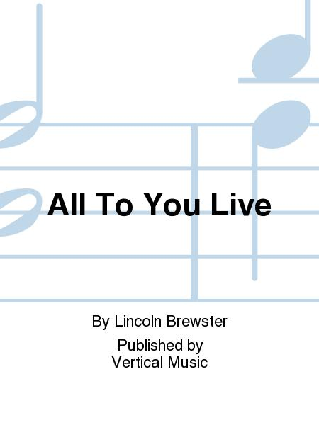Buy Lincoln Brewster Sheet Music Brewster Lincoln Music