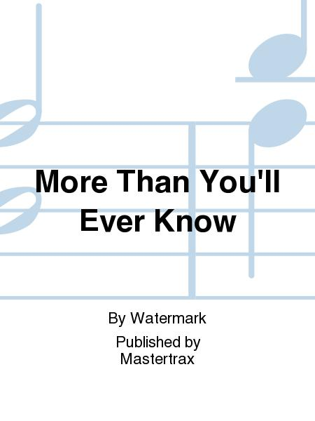 Song More Than You Know