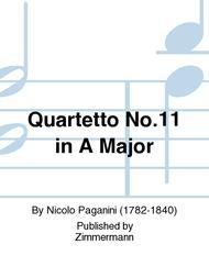 Quartetto No.11 in A Major