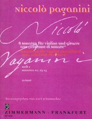 6 Sonatas from 'Centone di Sonate' for violin and guitar