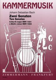 Sonatas in G Major BWV1021 & E Minor BWV1023