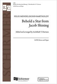 Behold a Star from Jacob Shining sheet music