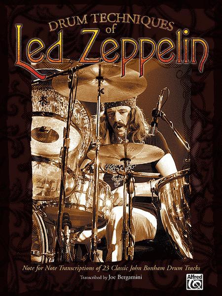Drum Techniques Of Led Zeppelin Sheet Music By Led Zeppelin
