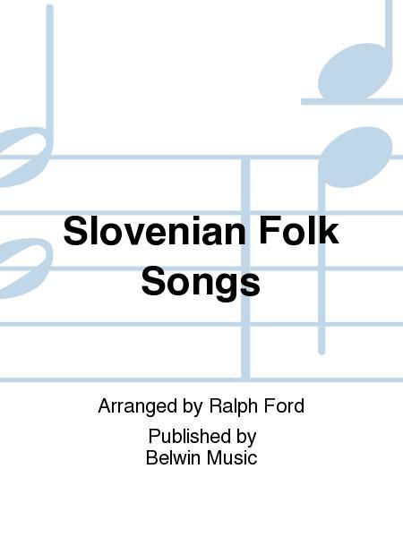 Sheet music: Slovenian Folk Songs (Concert band)