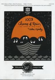 Walter Horsley  Sheet Music 100% Chance of Rain - Demo CD Song Lyrics Guitar Tabs Piano Music Notes Songbook