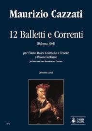 Maurizio Cazzati  Sheet Music 12 Balletti e Correnti Song Lyrics Guitar Tabs Piano Music Notes Songbook