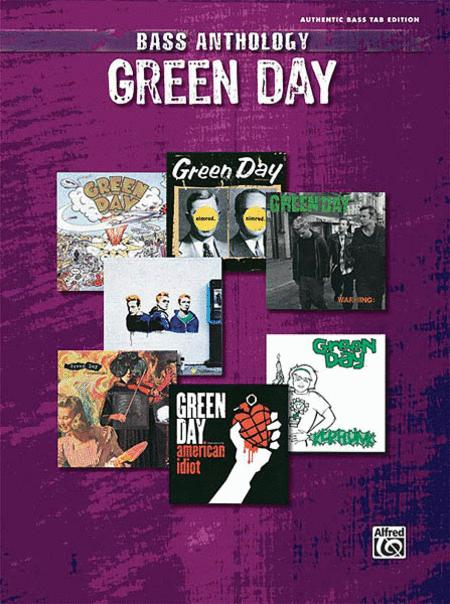 Green Day Bass Anthology Sheet Music By Green Day - Sheet