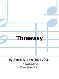 Threeway sheet music