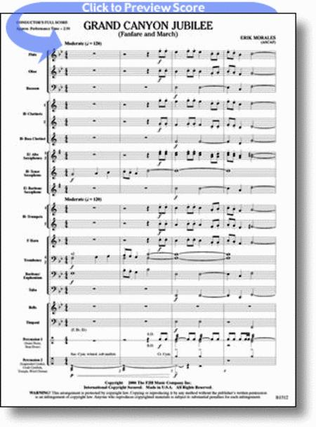 country band march score pdf
