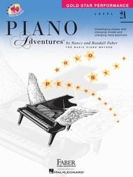 Piano Adventures Level 2A - Gold Star Performance with Online Audio