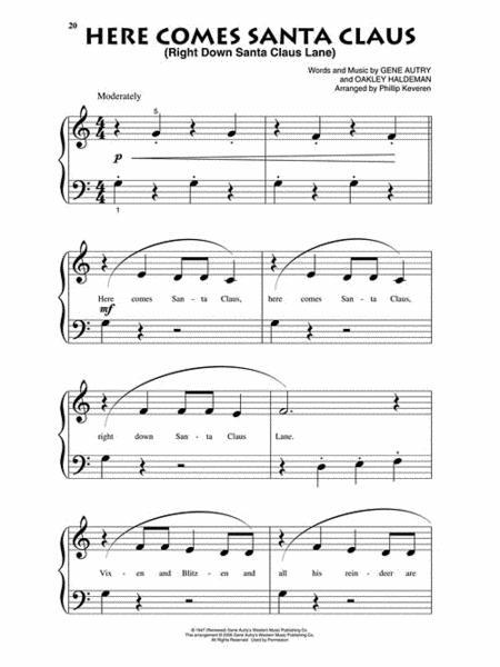 Buy PIANO scores, sheet music : CHRISTMAS - CAROLS - HOLIDAYS